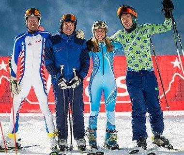 Friday afternoon racing - Team Slalom