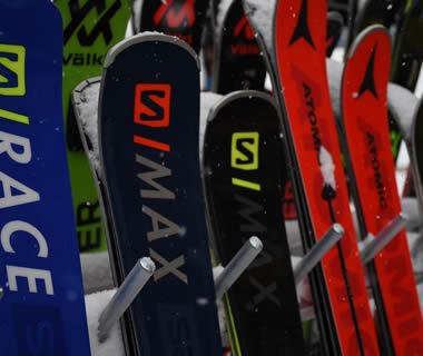 Dual Parallel Slalom Race Photos